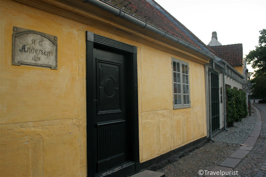 Hans Christian Andersen House in Odense, Hans Christian Andersen Museum, Hans Christian Andersen House and Museum, HC Andersen Hus, Odense, Denmark, writer's homes, children's literature, fairy tales