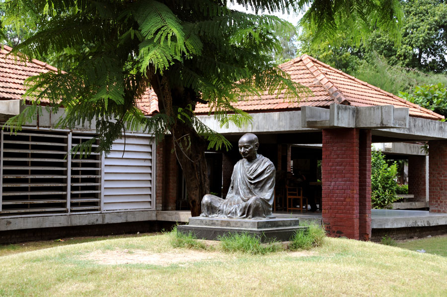 Independance day Gandhi Ashram